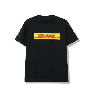 """Anti Social Social Club x DHL - Camiseta Logo """"Black"""""""