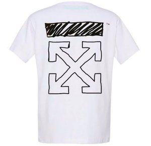 "Virgil Abloh x MCA x Tom Sachs - Camiseta Arrows ""White"""