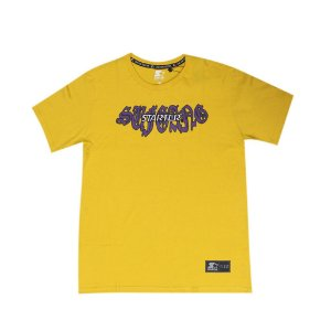 "SUFGANG x Starter - Camiseta Embroidered ""Yellow"""