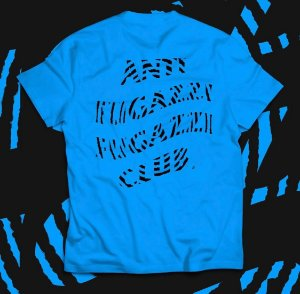 "YEEZY BUSTA - Camiseta Anti Fugazzi Club Misprint ""Blue"""