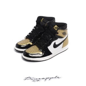 "NIKE - Air Jordan 1 Retro ""Gold Toe"" -USADO-"