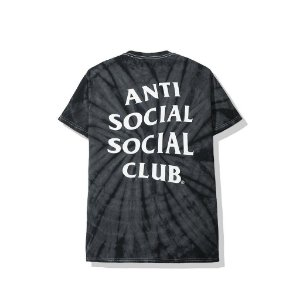 "ANTI SOCIAL SOCIAL CLUB - Camiseta Laguna Tie Dye ""Black"""