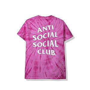 "ANTI SOCIAL SOCIAL CLUB - Camiseta Laguna Tie Dye ""Pink"""