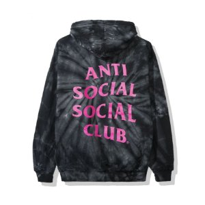 "ANTI SOCIAL SOCIAL CLUB - Moletom Laguna Tie Dye ""Black"""