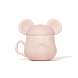 "Anti Social Social Club x Be@rbrick - Caneca Be@rMug ""Pink"""