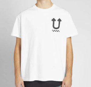 "OFF-WHITE x UNDERCOVER - Camiseta Skeleton Dart ""White"""