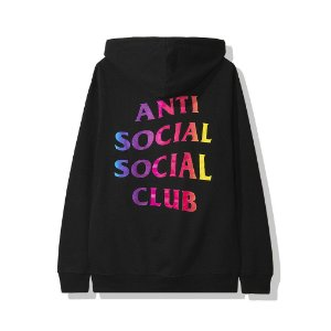 "ANTI SOCIAL SOCIAL CLUB - Moletom More Hate More Love ""Black"""
