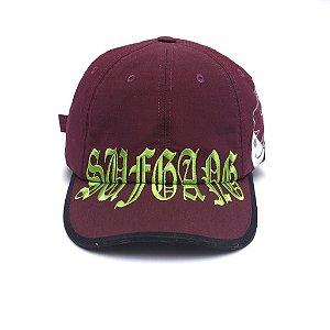 "SUFGANG x Starter - Boné Dad Hat ""Burgundy"""