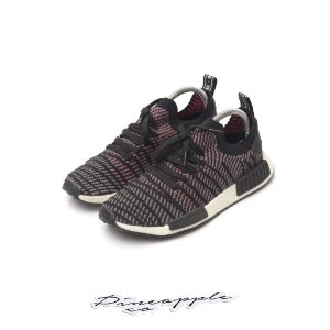 "adidas NMD R1 STLT ""Black/Grey/Solar/Pink"""