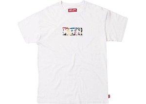 """KITH x COCA COLA - Camiseta Global Logo """"White"""""""