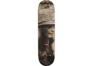 SUPREME - Supreme is Love Skateboard Stone