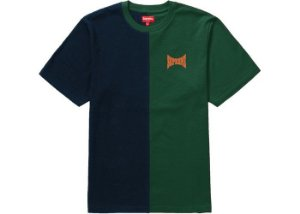 "SUPREME - Camiseta Split S/S ""Dark/Green"""