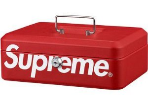 "SUPREME - Caixa Lock Box ""Red"""