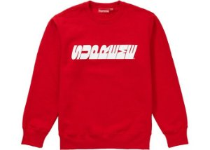 "SUPREME - Moletom Breed ""Red"""
