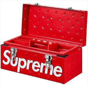 """SUPREME - Caixa de Ferramentas Diamond Plate """"Red"""""""