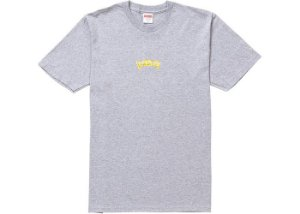 "SUPREME - Camiseta Fronts Heather ""Grey"""