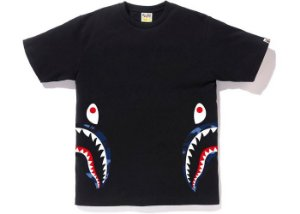 "BAPE - Camiseta Side Shark ""Black"""
