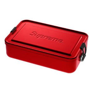 "SUPREME - Caixa Grande SIGG Metal Plus ""Red"""