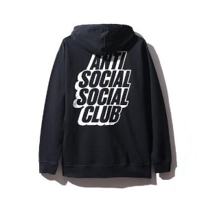 "ANTI SOCIAL SOCIAL CLUB - Moletom Blocked Zip ""Black"""