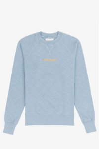 "AIMÉ LEON DORE - Moletom Creewneck ""Light Blue"""