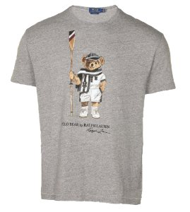 "Polo Ralph Lauren - Camiseta Polo Bear RL 67 ""Grey"""