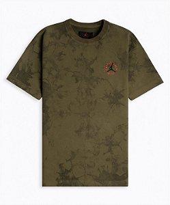 """TRAVIS SCOTT - Camiseta Jordan Jack Suede """"Olive"""""""