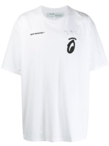 "OFF-WHITE - Camiseta Splitted Arrows ""White"""
