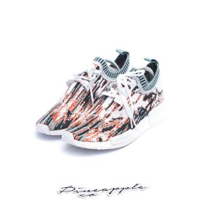 "adidas NMD R1 x Sneakersnstuff ""Datamosh Collegiate Orange"""