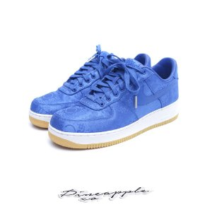 "Nike Air Force 1 Low x CLOT ""Blue Silk"" -USADO-"