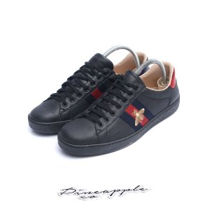 "Gucci Ace Embroidered Bee ""'Black Bee"""