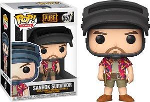 FUNKO POP! - Boneco PUBG: Sanhok Survivor #557 -NOVO-