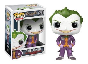 FUNKO POP! - Boneco Batman Arkham Asylum: The Joker #53