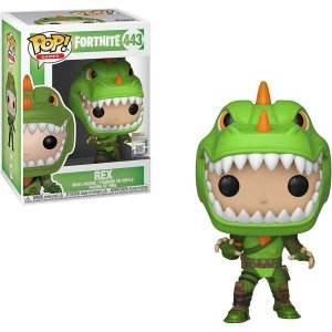 FUNKO POP! - Boneco Fortnite: Rex #443 -NOVO-