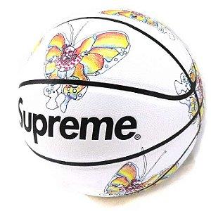 "Supreme x Spalding - Bola de Basquete Butterfly ""White"""