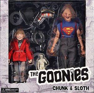 "REEL TOYS - Bonecos The Goonies ""Chunk & Sloth"" -NOVO-"