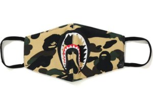 "BAPE - Máscara Shark Face ""Camo"""