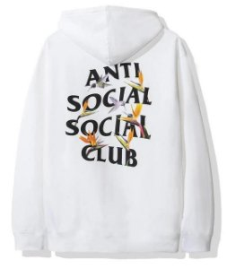 "ANTI SOCIAL SOCIAL CLUB - Moletom Pair of Dice ""White"""
