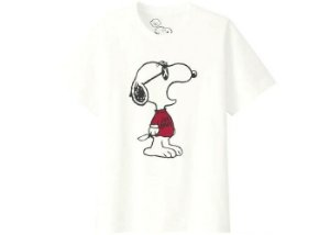 "Kaws x Uniqlo x Peanuts - Camiseta Joe Kaws ""White"""