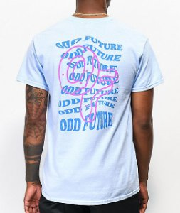 "ODD Future - Camiseta Wavy Text ""Blue"""