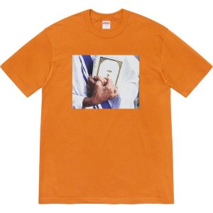 "SUPREME - Camiseta Bible ""Burnt Orange"""