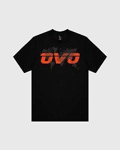"""OVO - Camiseta GEO Runner """"Black"""""""
