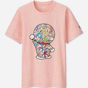 "UNIQLO x TAKASHI MURAKAMI - Camiseta Doraemon ""Pink"""
