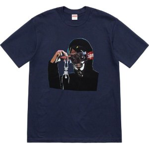 "SUPREME - Camiseta Creeper ""Dark Blue"""