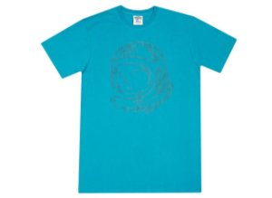 "BILLIONAIRE BOYS CLUB - Camiseta Dot Helmet ""Azul"" -NOVO-"