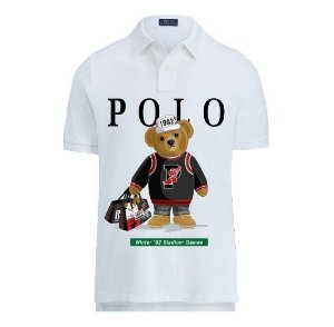 "Polo Ralph Lauren - Camisa Polo Bear 1992 ""White"""