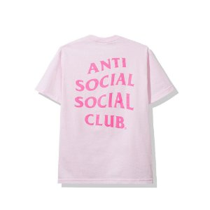 "ANTI SOCIAL SOCIAL CLUB - Camiseta Madrid ""Pink"""