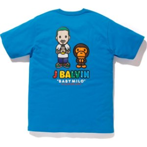 "BAPE x J BALVIN - Camiseta Milo ""Blue"""