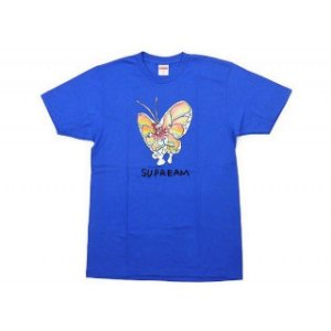 "SUPREME - Camiseta Gonz Butterfly ""Azul Royal"" -NOVO-"