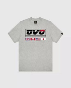 "OVO - Camiseta International ""Grey"""