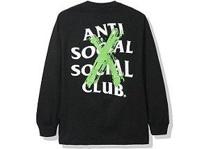 "ANTI SOCIAL SOCIAL CLUB - Camiseta Manga Longa Cancelled ""Black"""